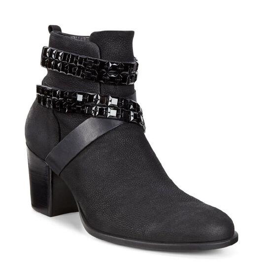 ECCO Shape 55 Mid Boot (BLACK/BLACK)