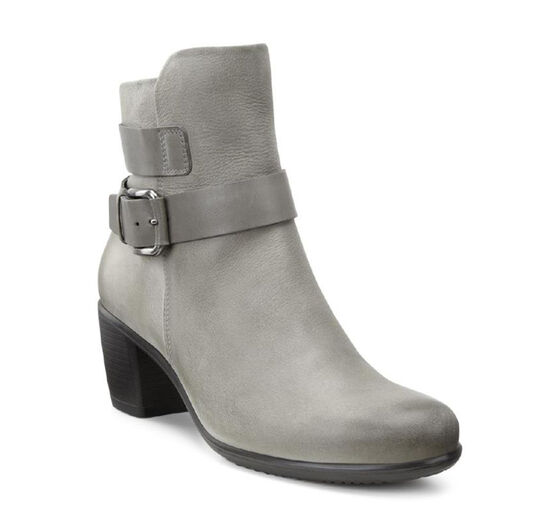 ECCO Touch 55 Mid Cut Bootie (WARM GREY/WARM GREY)