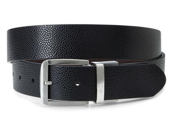 ECCO Dailey Mens Belt (BLACK/COFFEE)