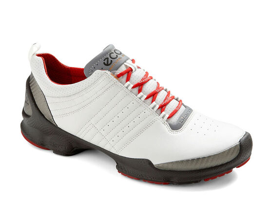 ECCO Mens BIOM Train (BUFFED SILVER/WHITE)