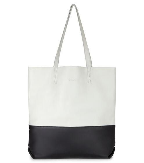 ECCO Delight Tote Shopper (WHITE/BLACK)