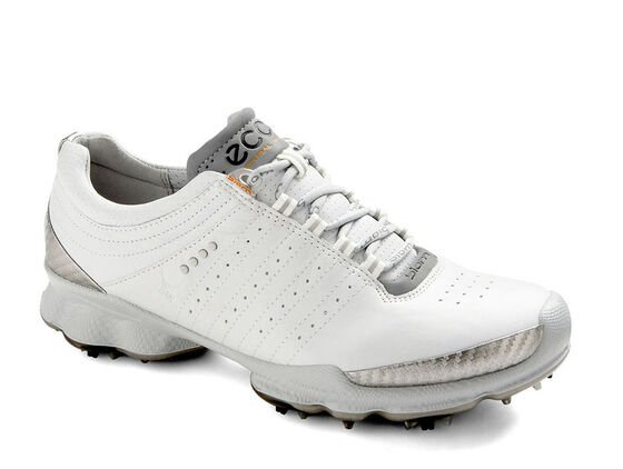 ECCO Womens BIOM Golf (WHITE/CONCRETE)