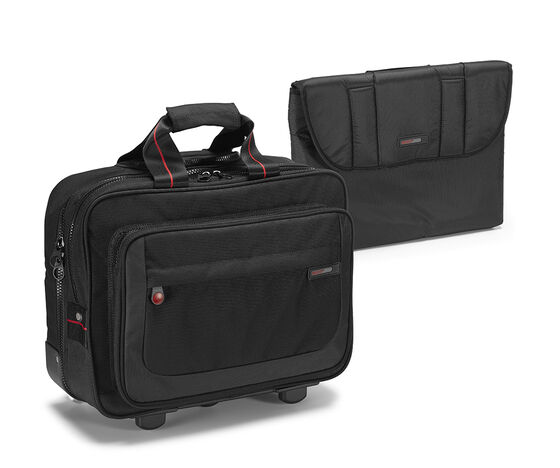 ECCO Leicester Laptop Trolley (BLACK/GREY)