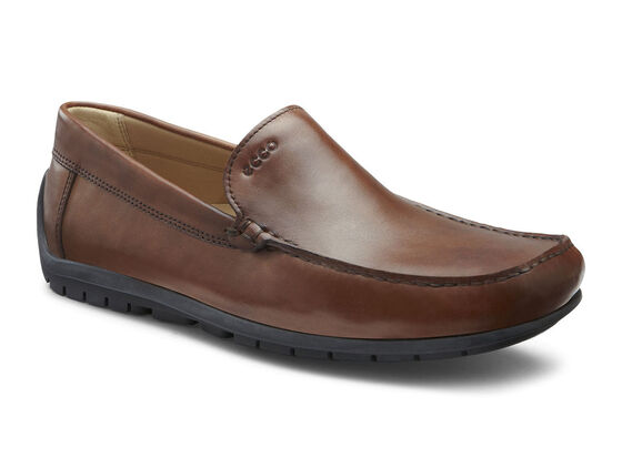ECCO Soft Slip On (COGNAC)