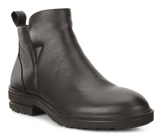 ECCO Zoe Zip Ankle Boot (BLACK)