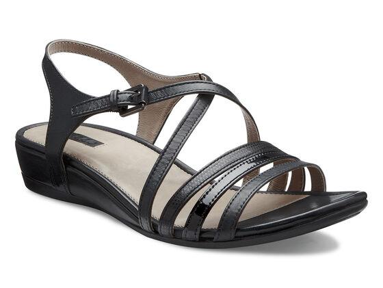 ECCO Touch Strap Sandal (BLACK/BLACK)