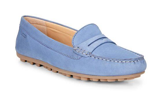 ECCO Devine Moc Penny Loafer (RETRO BLUE)