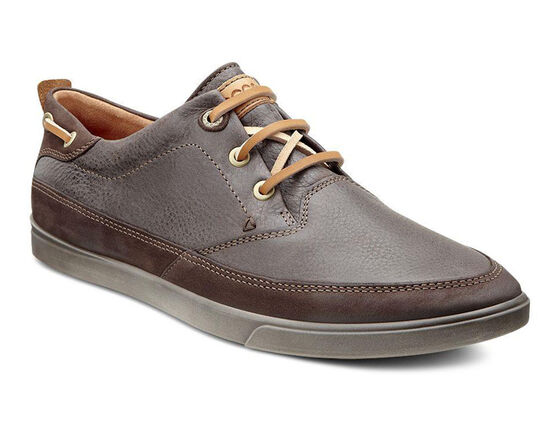 ECCO Collin Nautical Sneaker (MOCHA/COFFEE)