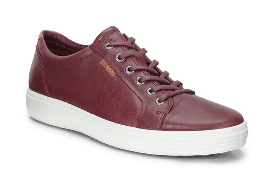 ECCO Mens Soft 7 Sneaker (PORT)