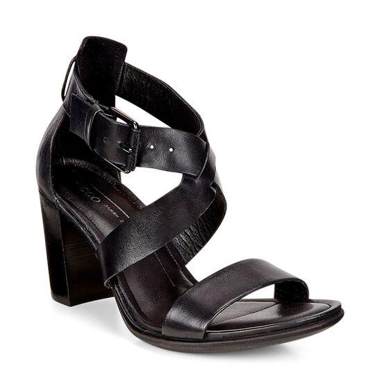 ECCO Shape 65 Block Sandal (BLACK)