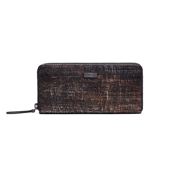 ECCO Izzard Large Zip Wallet (MULTICOL.BLACK)