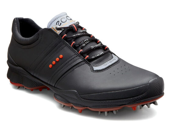 ECCO Mens BIOM Golf Hydromax (BLACK/FIRE)