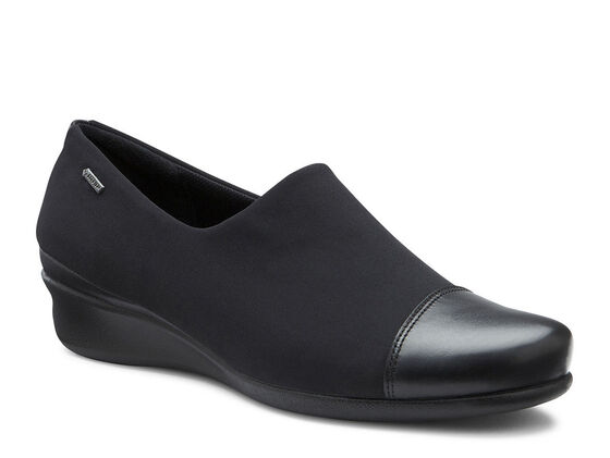 ECCO Abelone GTX Slip On (BLACK/BLACK)