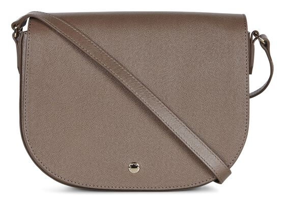 ECCO Iola Medium Saddle Bag (DARK CLAY)