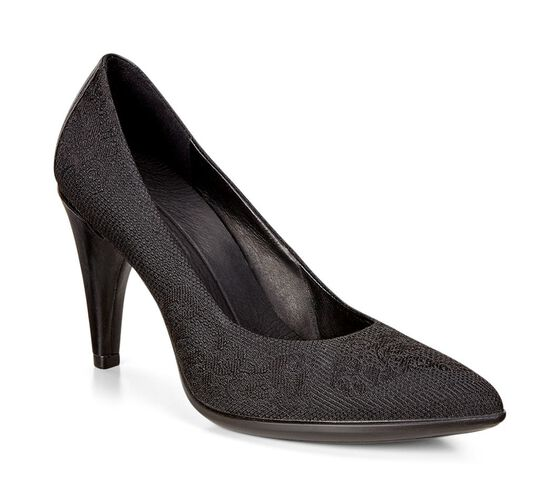 ECCO Shape 75 Textured Pump (BLACK/BLACK)