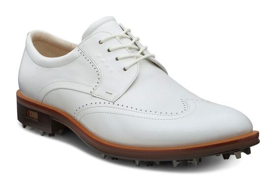 ECCO Mens New World Class (WHITE/WHITE)