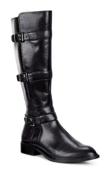 ECCO Chelsea 20 Tall Boot (BLACK)