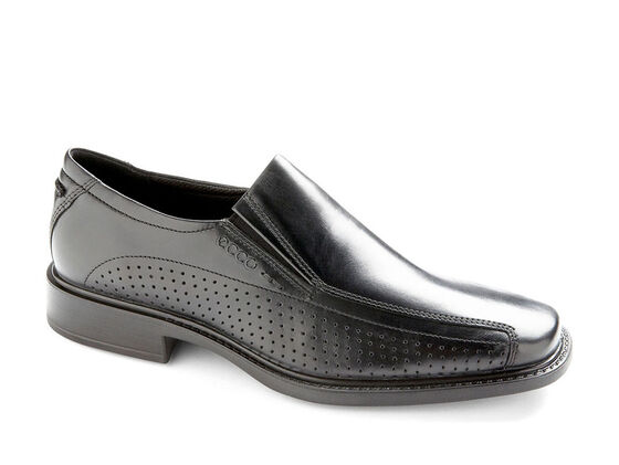 ECCO New Jersey Perf Slip On (BLACK)