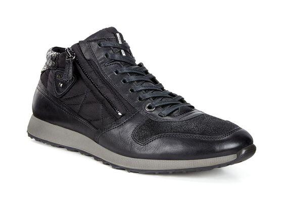 ECCO Womens Sneak Zip (BLACK/BLACK-BLACK/BLACK/BLACK)