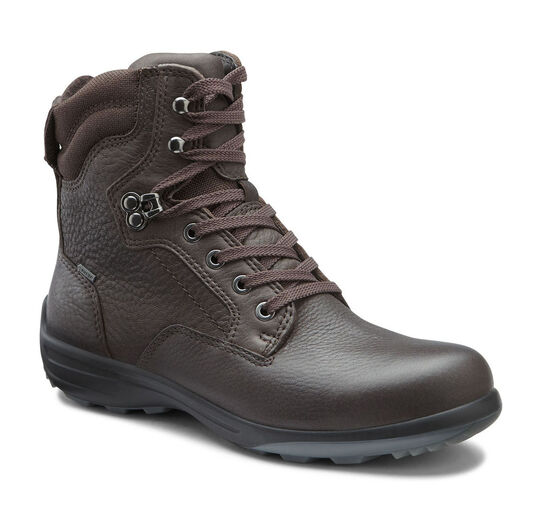 ECCO Voyage GTX Plain Toe Boot (COFFEE)