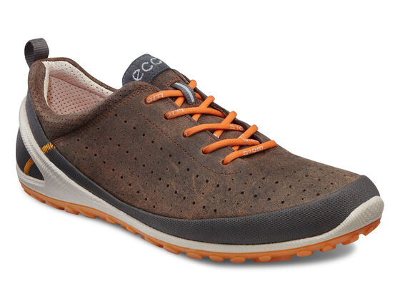 ECCO Mens BIOM Lite 1.1 (DARK SHADOW/COCOA BROWN/ORANGE)