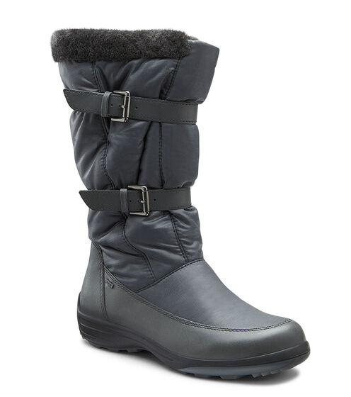 ECCO Voyage GTX Buckle Boot (DARK SHADOW/DARK SHADOW)