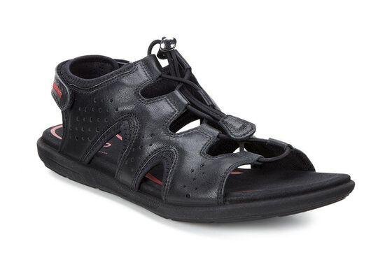 ECCO Bluma Toggle Sandal (BLACK)