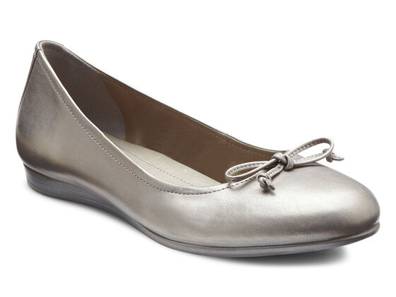 ECCO Touch Bow Ballerina (MOON ROCK)