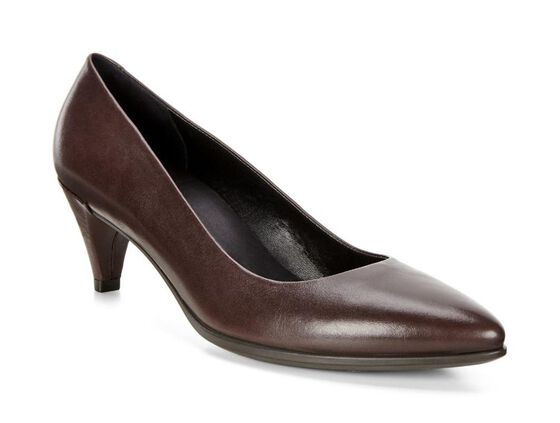 ECCO Shape 45 Sleek Pump (COFFEE)