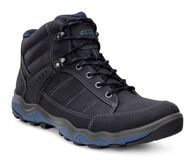 ECCO Mens Ulterra Dhaka MidECCO Mens Ulterra Dhaka Mid in BLACK/DENIM BLUE (50608)