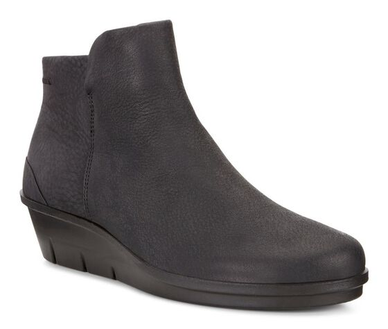 ECCO Skyler Wedge Bootie (BLACK)