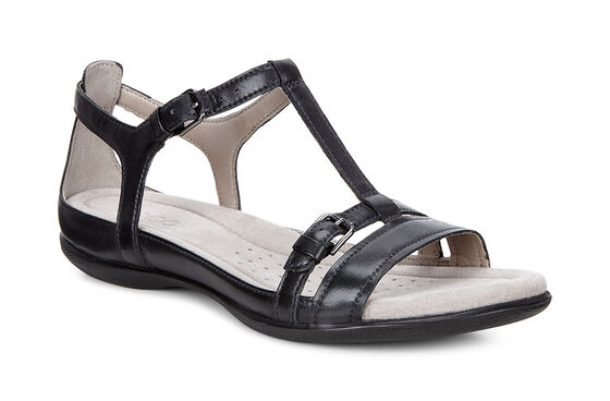 ECCO Flash T-Strap Sandal II (BLACK)