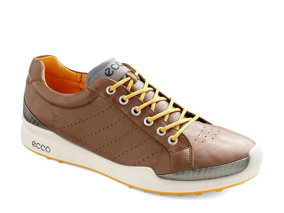 ECCO Mens BIOM Golf Hybrid (COCOA BROWN/FANTA)