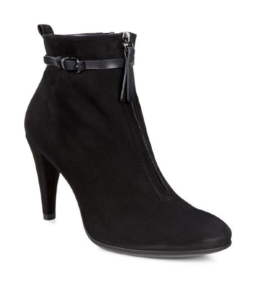 ECCO Shape 75 Sleek Ankle Boot (BLACK/BLACK)