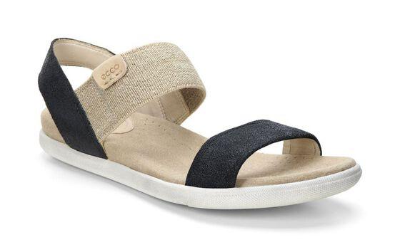 ECCO Damara Ankle Sandal (BLACK)