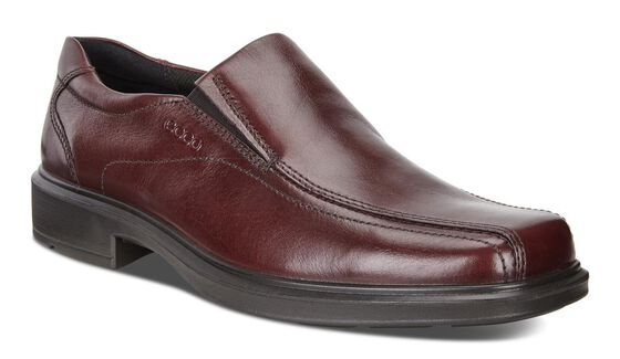 ECCO Helsinki Bike Toe Slip On (RUST)