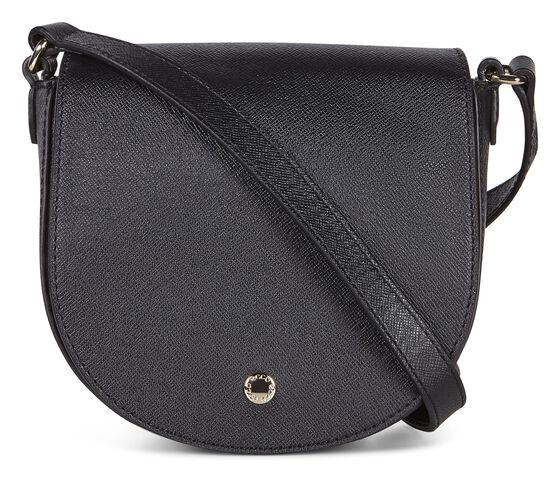 ECCO Iola Small Saddle Bag (BLACK)