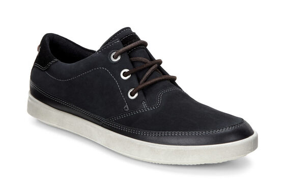 ECCO Aimee Nautical Sneaker (BLACK/BLACK)