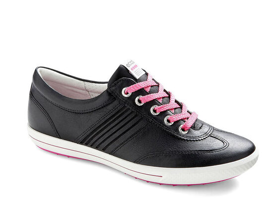ECCO Womens Street Sport (BLACK/CANDY)