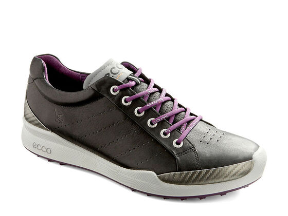 ECCO Mens BIOM Golf Hybrid (BLACK/IMPERIAL PURPLE)