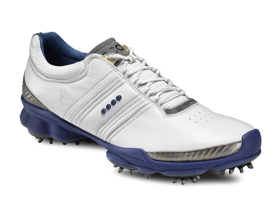 ECCO Mens BIOM Golf Hydromax (MAZARINE BLUE/LIME PUNCH)