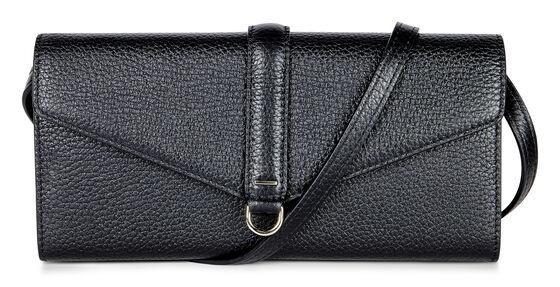 ECCO Isan Clutch Wallet (BLACK)
