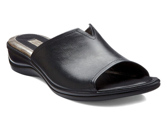 ECCO Sensata Dress Slide (BLACK)