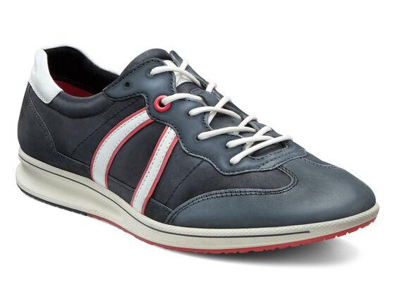 ECCO Jogga Trend Sneaker (BLACK/BLACK/WHITE)