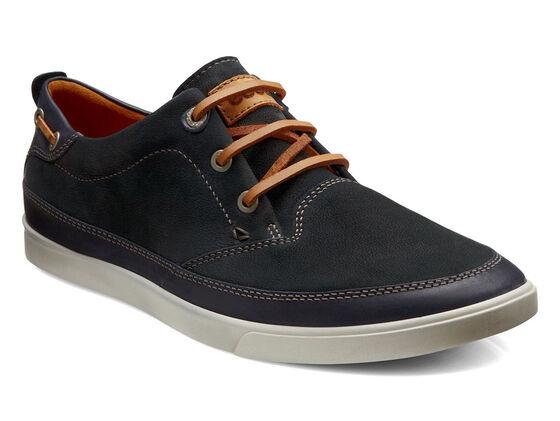 ECCO Collin Nautical Sneaker (BLACK/BLACK)