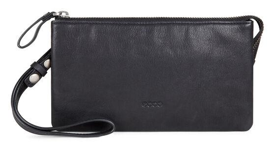 ECCO Handa Clutch Wallet (BLACK)