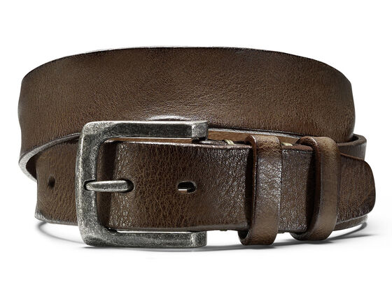 ECCO Charlo Belt (DARK CLAY)