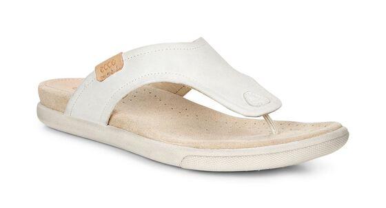 ECCO Damara Thong Sandal (SHADOW WHITE)