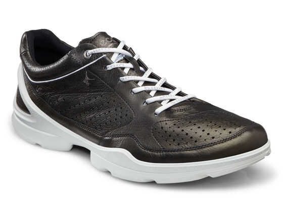 ECCO Mens BIOM EVO Race Plus (BLACK/WHITE)