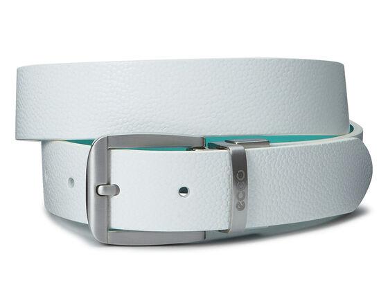 ECCO Dailey Ladies Belt (WHITE/TURQUISE)